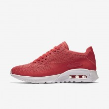 Nike Air Max 90 Lifestyle Shoes Womens Geranium/White 881109-600