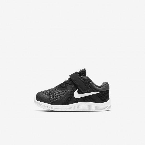 Zapatillas Running Nike Revolution 4 Niña Negras/Blancas 943304-006