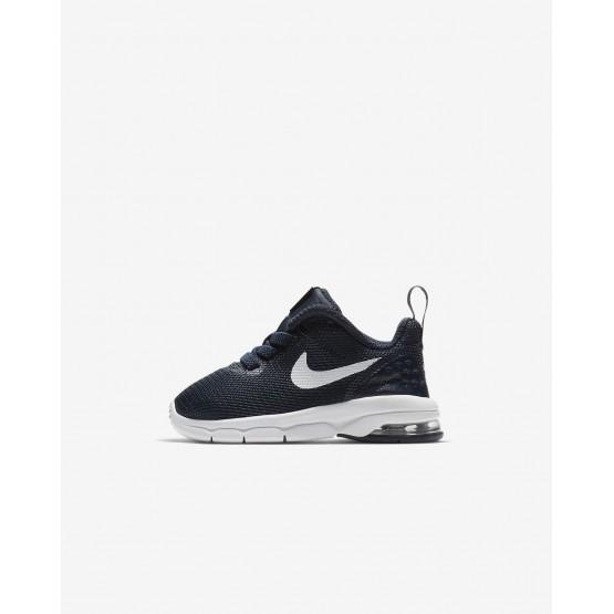 Zapatillas Casual Nike Air Max Motion Niño Obsidian/Blancas 917652-401