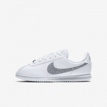 Nike Cortez Lifestyle Shoes Girls White/Gunsmoke/Atmosphere Grey AH7528-100