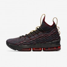 Nike LeBron 15 Basketball Shoes Womens Dark Atomic Teal/Team Red/Muted Bronze/Ale Brown 897648-300