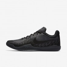 Nike Mamba Rage Basketball Shoes Mens Black/Dark Grey/Cool Grey 908972-002