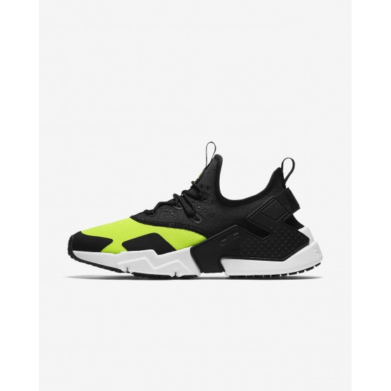 Nike Air Huarache Lifestyle Shoes Mens Volt/White/Black AH7334-700