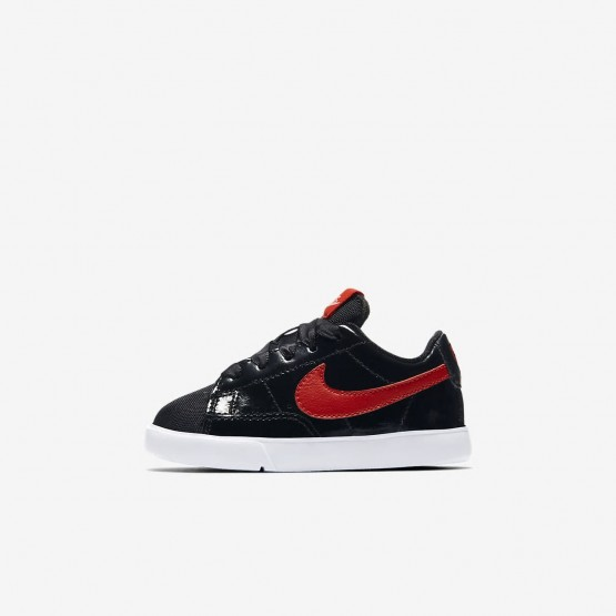 Chaussure Casual Nike Blazer Fille Noir/Corail/Rouge AO1035-001