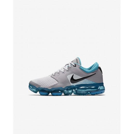 Nike Air VaporMax Running Shoes Boys Vast Grey/Dusty Cactus/Atmosphere Grey/Black 917963-011
