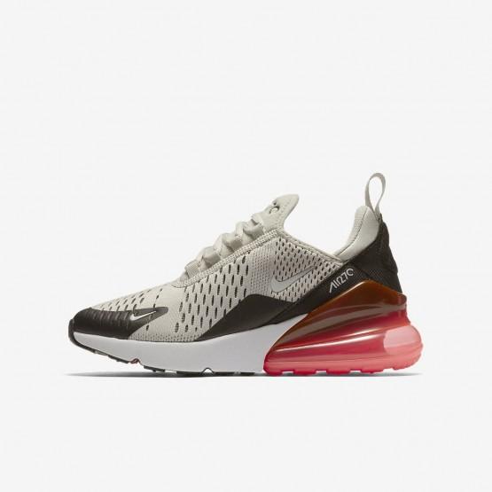 Chaussure Casual Nike Air Max 270 Garcon Clair Noir/Blanche 943345-002