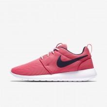 Zapatillas Casual Nike Roshe One Mujer Coral/Blancas/Obsidian 844994-801