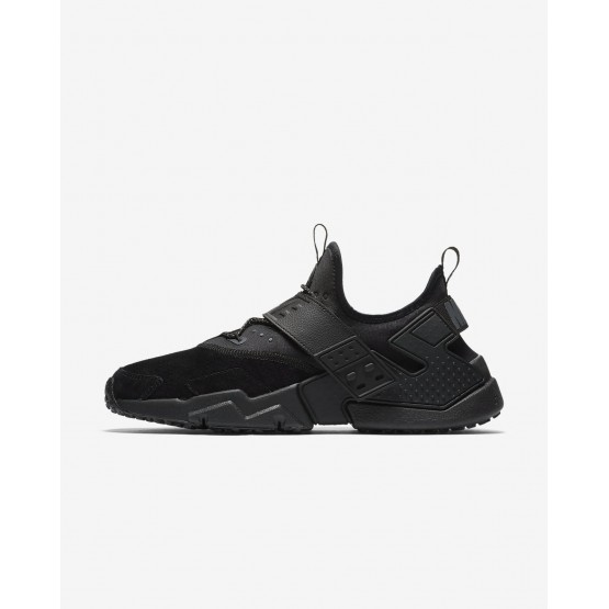 Nike Air Huarache Lifestyle Shoes Mens Black/White/Anthracite AH7335-001