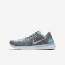Chaussure Running Nike Free RN Garcon Metal Argent/Grise/Grise Foncé/Argent 881974-002