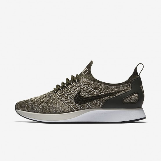 Sapatilhas Casual Nike Air Zoom Mulher Caqui/Branco/Luz AA0521-301